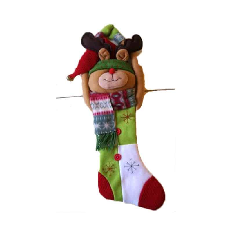 Calza VUOTA Jolly 37 cm Befana Epifania calze hempty stocking Epiphany